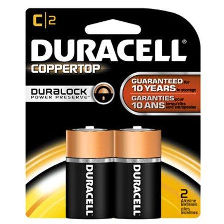 3 Pack - Duracell Coppertop C Alkaline Batteries 1.5 Volt ...