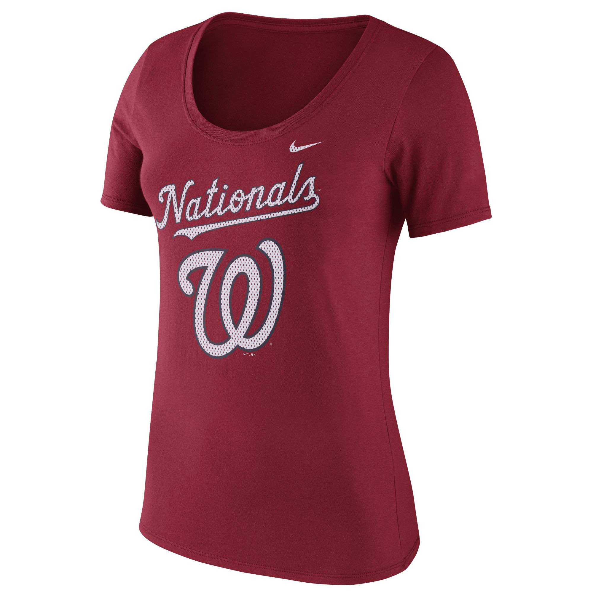 Washington Nationals Nike Women's Core T-Shirt - Red