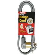 Prime RD628106L 6' 6/2 & 8/1 SRDT Gray Amp Range Cord