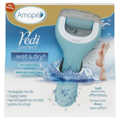 Amope Pedi Perfect Wet and Dry Electronic Foot File