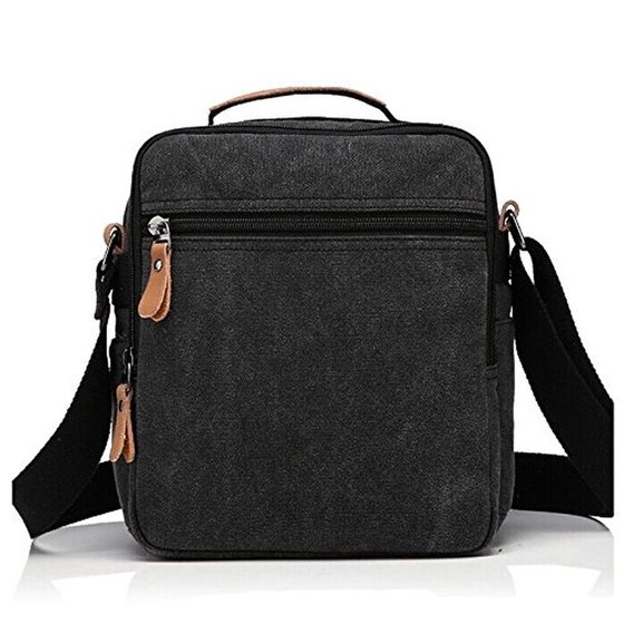 8fa9ee7deeac Plambag Canvas Messenger Bag Small Travel School Crossbody Bag - Walmart.com