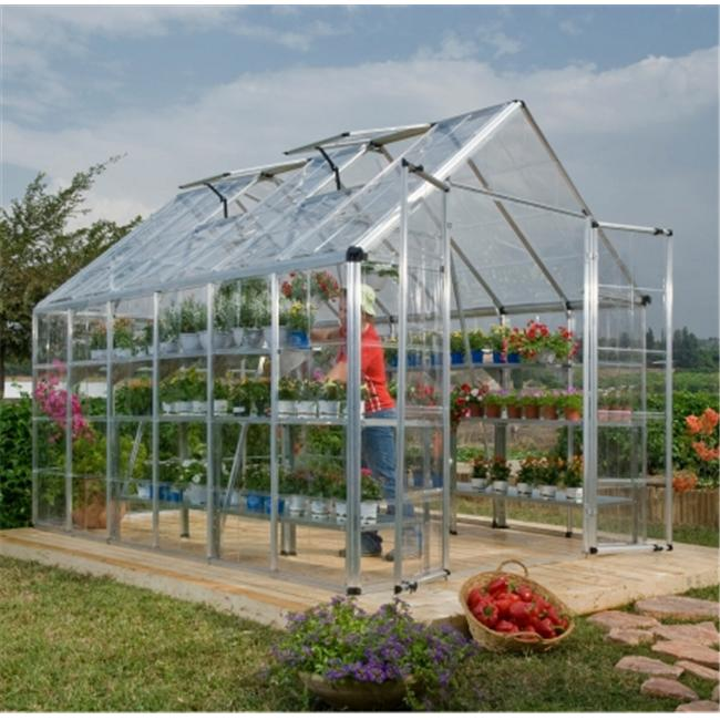 palram hg8012 snap and grow 8 ft x 12 ft greenhouse