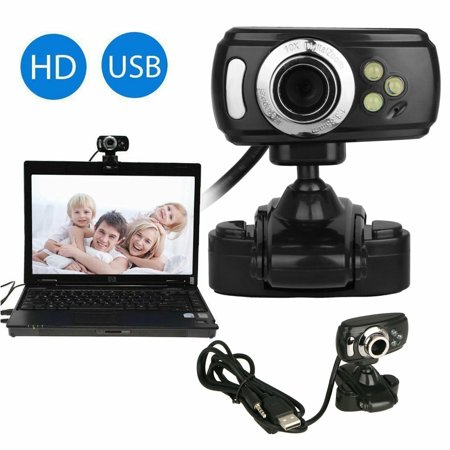 Full HD Laptop Webcam, EEEkit 1080P OBS Live Streaming Web Camera with Built-in Stereo Microphone, Computer Web Camera Pro Video Cam for Mac PC Windows Skype Obs Twitch