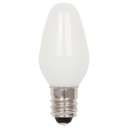 Westinghouse 5510900 Pack Of (2) 0.75 Watt C7 Candelabra (E12) Led Bulbs - Frost