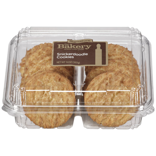 The Bakery at Walmart Signature Snickerdoodle Cookies, 12ct
