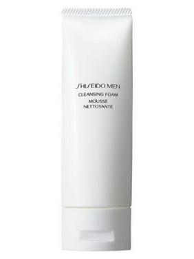 Shiseido Men Facial Cleansing Foam, Face Wash for Men, 4.6 Oz