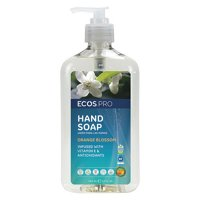 Liquid Hand Soap, Orange Blossom, 17 oz. ECOS PRO