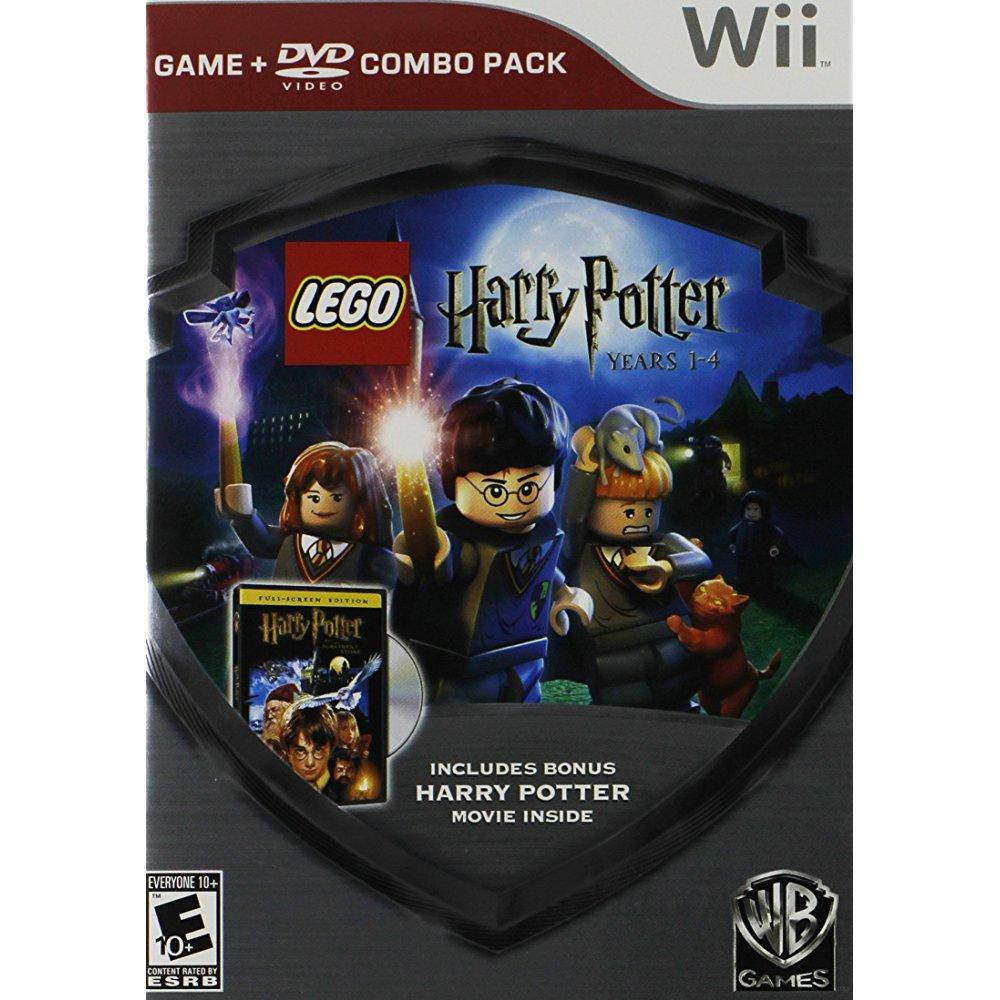 Lego Harry Potter 1-4 Dvd (Wii)