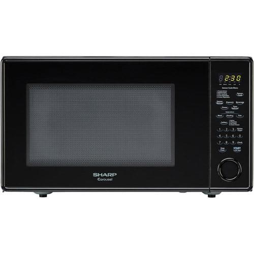 Sharp R559yk Carousel Countertop Microwave Oven 1 8 Cu Ft