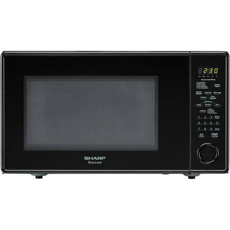 Countertop Microwave Walmart : ... Countertop Microwave Oven 1.8 cu. ft. 1100W Black - Walmart.com