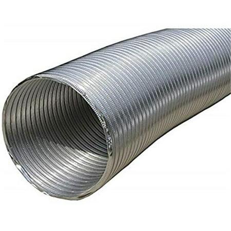 Builders Best 111564 4 in. x 2 ft. Semi-Rigid Push-Fit Duct,