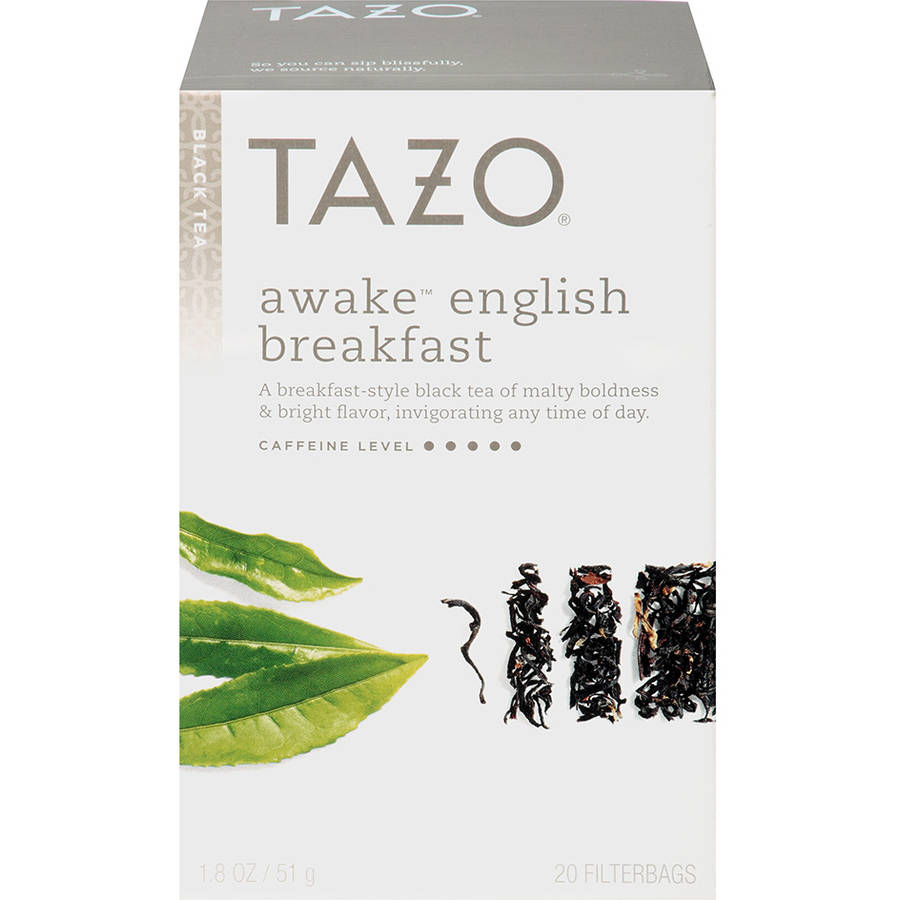 Tazo Awake English Breakfast Black Tea Tea Bags, 20ct