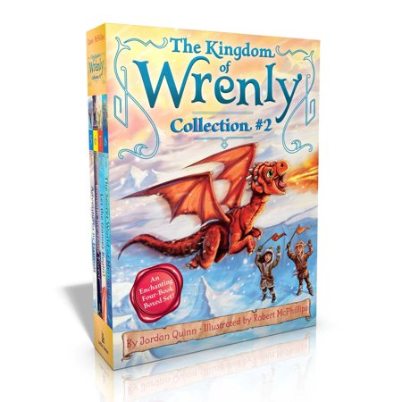 The Kingdom of Wrenly Collection #2 : Adventures in Flatfrost; Beneath the Stone Forest; Let the Games Begin!; The Secret World of