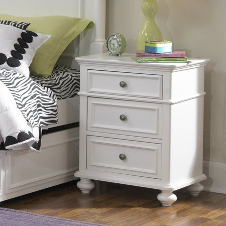 Legacy Classic Kids Madison 3 Drawer Nightstand Natural White