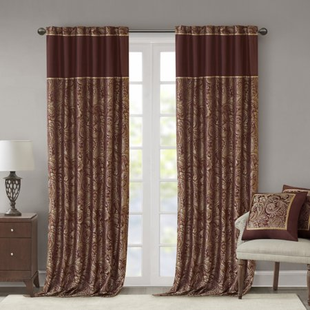 Home Essence Valerie Window Panel Pair Available In Multiple Colors And Sizes