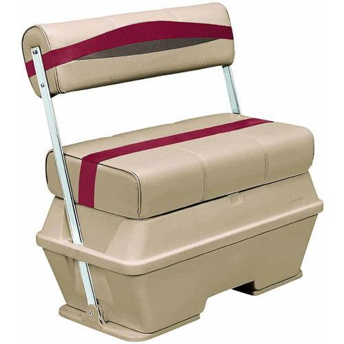 Wise Premier Series Pontoon 50 qt Flip Flop Cooler Seat