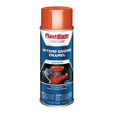 PlastiKote 200 Chevrolet Orange Engine Enamel, 12 oz. Chevrolet 350 Crate Engine