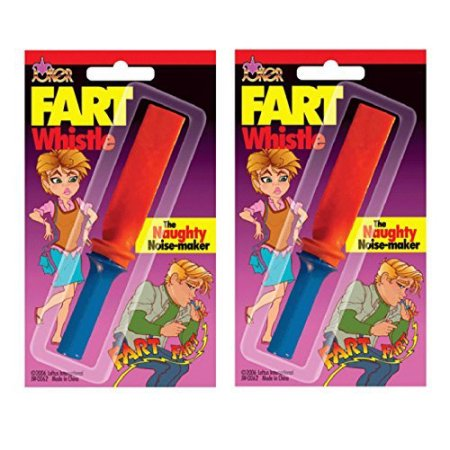 The Famous Fart Whistle - Pack of 2 Sealed in Package