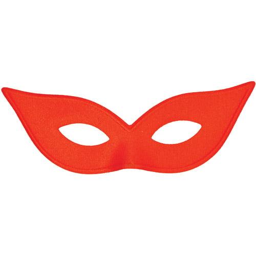 Satin Harlequin Mask Adult Halloween Accessory