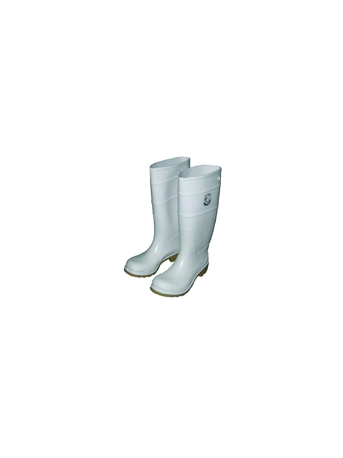 "Joy Fish BOOT10-JOYFISH-W White PVC 16"" Boot Men's Sz10, BOOT-10-JOYFISH-W"