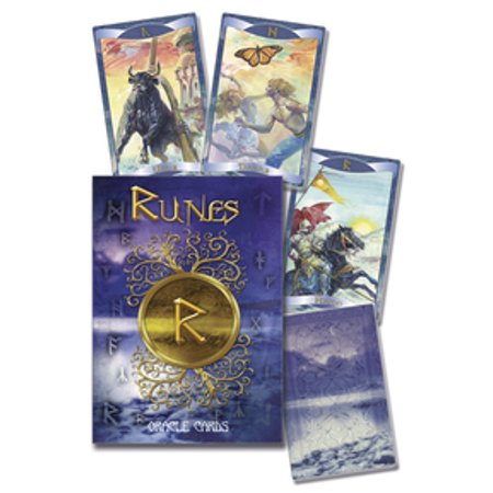 Party Games Accessories Halloween Séance Tarot Cards Rune Oracle cards by Cosimo Musio
