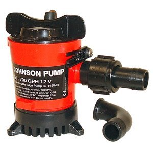 Johnson Pump Compact Cartridge Bilge Pump (500 GPH 12V) by Johnson Pump