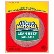 Hebrew National Lean Beef Salami 6 Oz.