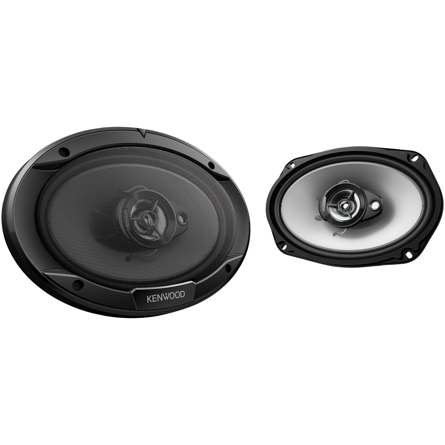 "Kenwood KFC-6966S Sport Series Coaxial Speakers (6"" X 9"", 3 Way, 400 Watts)"