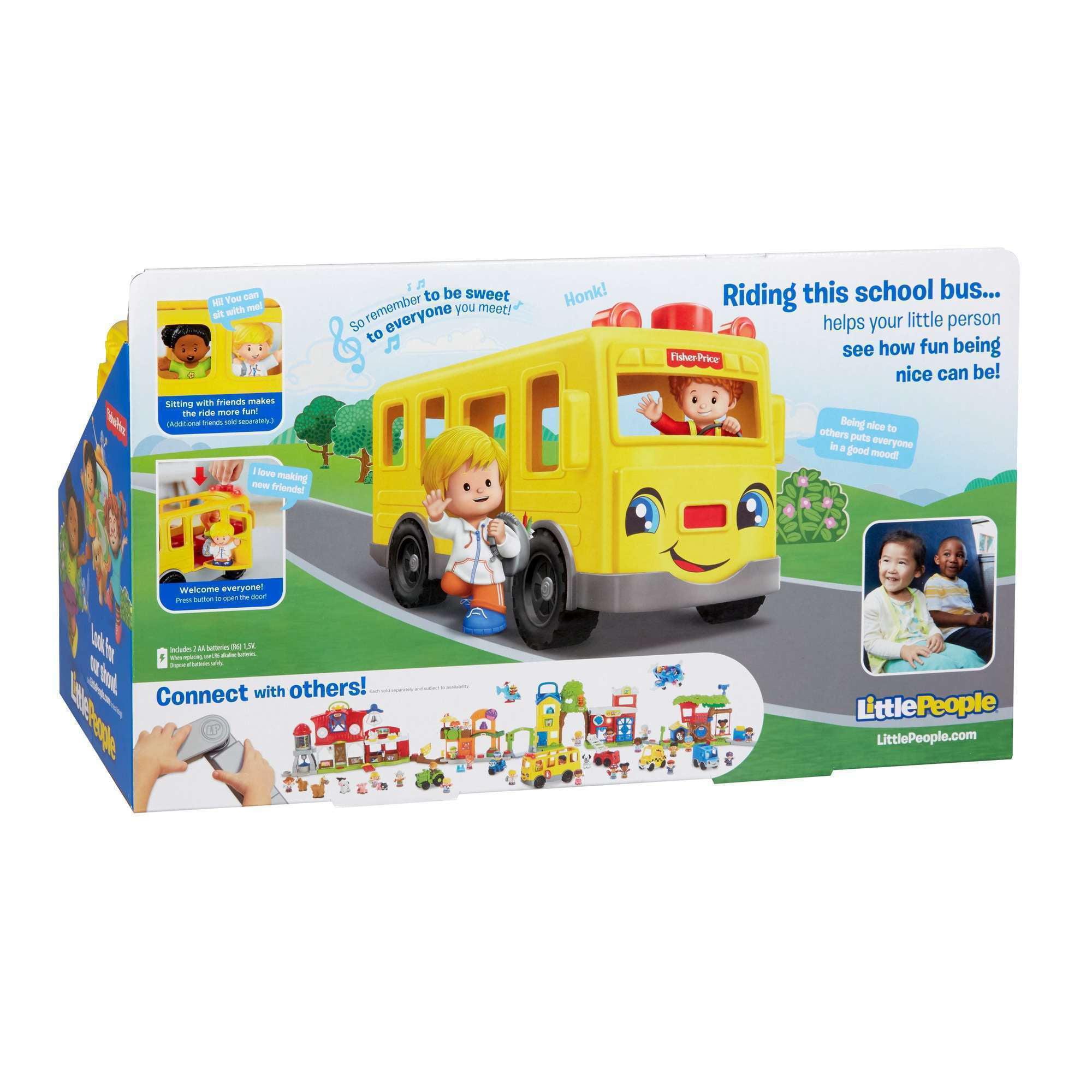 Little People Sit With Me School Bus - Walmart.com