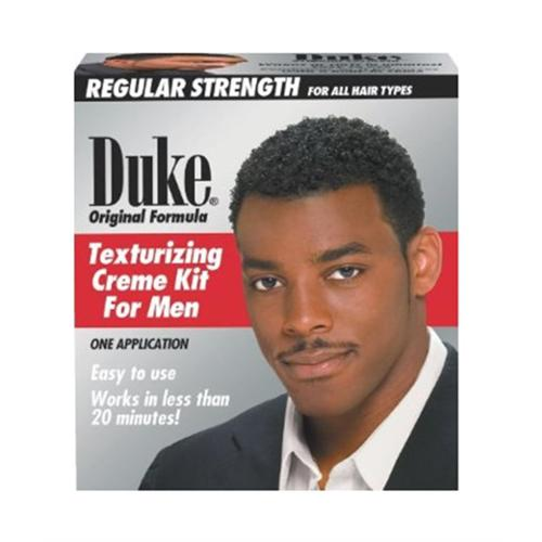 Duke Texturizing Creme Kit for Men Regular Strength, 1 Kit (Pack of 2)
