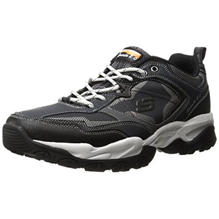 Skechers Sport Men's Sparta Tr Wide Oxford, Navy/Black (Skechers Oxford Mens Shoes)