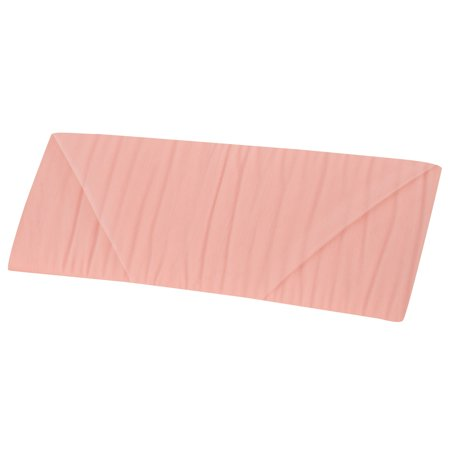 Peach Tulle Fabric 54