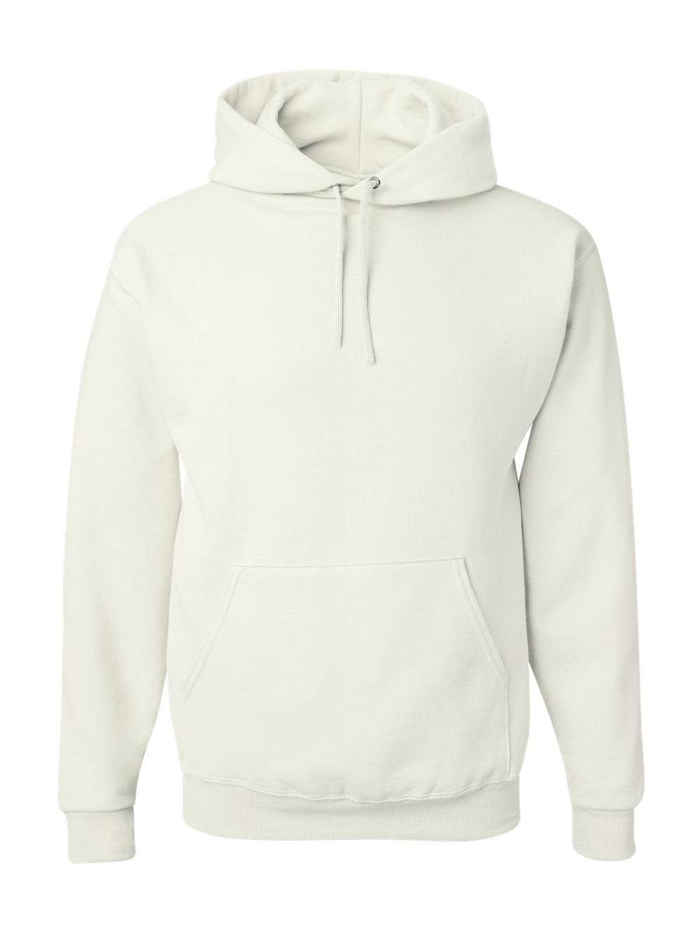 Jerzees Mens NuBlend Pull Over Hooded Sweatshirt, JZ996MR, L