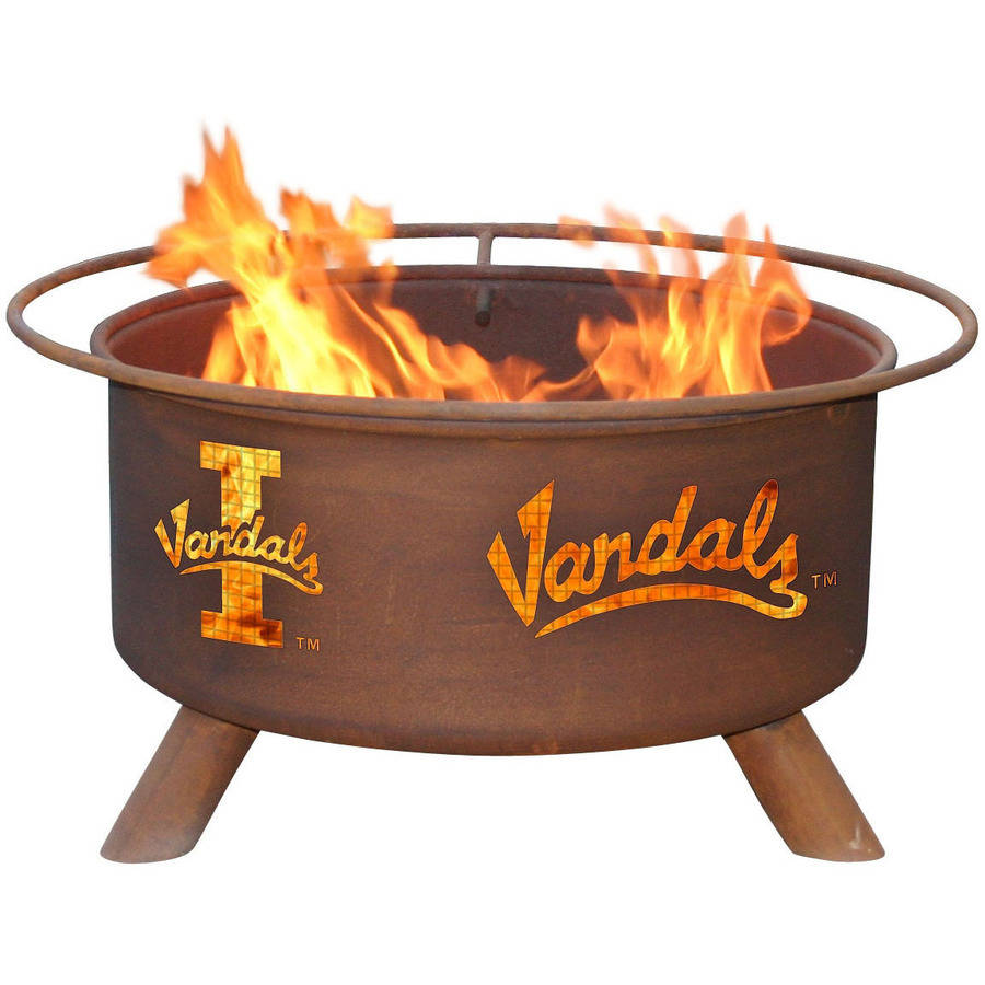 """Patina Products F408 24"""" University Of Idaho Vandals Fire Pit"""