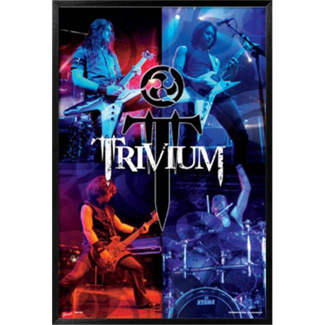 Hot Stuff Enterprise Z026-24x36-NA Trivium Poster