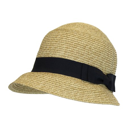 8bf22bb2237 Women s Backless Bucket Straw Hat