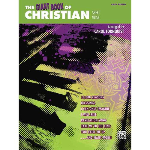 The Giant Book of Christian Sheet Music: Easy Piano