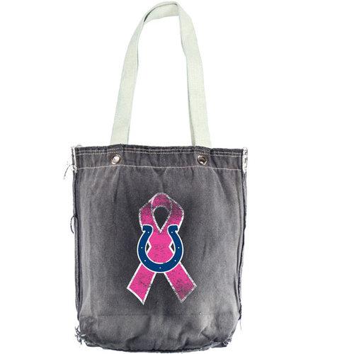 NFL - Indianapolis Colts Breast Cancer Awareness Black Vintage Shopper