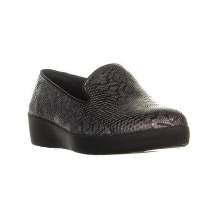 7831586643ed FitFlop Audrey Python Slip On Loafer Flats
