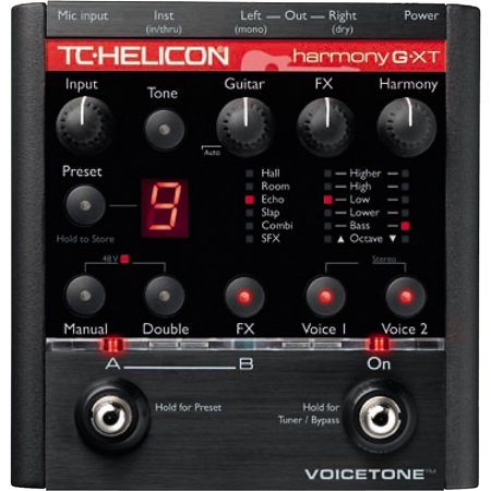 TC Helicon Harmony-G XT Voice Effect Pedal