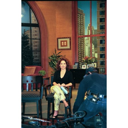 Gloria Estefan As Guest Co-Host On Live With Regis And Kelly Ny 262001 By Janet Mayer Celebrity (Regis And Kelly)
