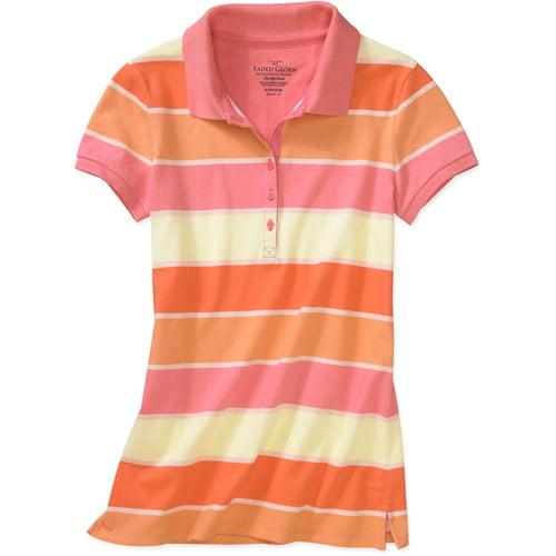 Faded Glory Women's Knit Polo Shirt