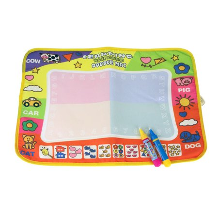 Aqua Doodle Children Drawing Toys Mat Magic Pen Educational Toy 1 Mat+ 2 Wate