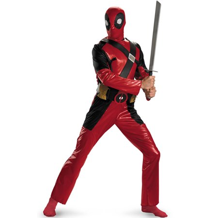 Deadpool Costume Sale (Deadpool Adult Costume)