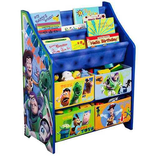 Disney - Toy Story Book and Toy Organizer