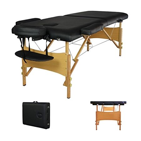 Black Portable Massage Table The Most Fully Featured And Economical Massage T
