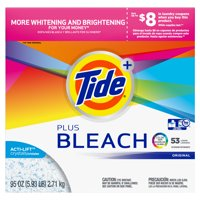 Tide Plus Beach, Powder Laundry Detergent, 95 Oz 53 loads