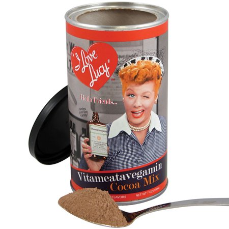 I Love Lucy Ricardo Vitameatavegamin Cocoa Mix - 7 oz. Hot Chocolate Tin I Love Lucy Mini Tin