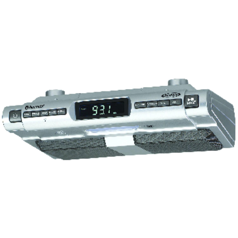 JENSEN SMPS-628 Under-Cabinet Universal Bluetooth Music System ...