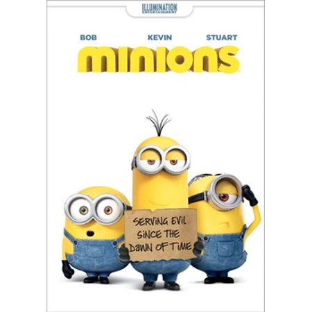Minions (DVD) - Minion Movie Characters